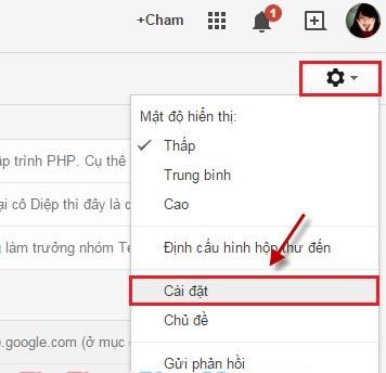 cài đặt gmail vào outlook